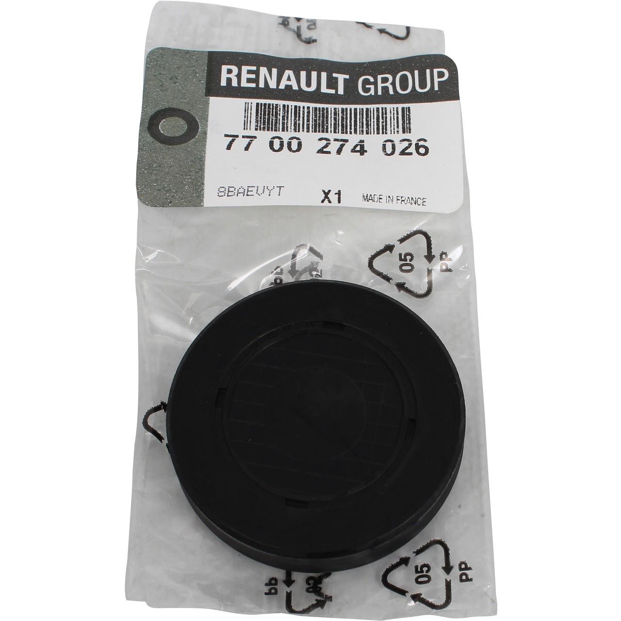 ORIGINAL Renault Stopfen Kipphebelwellen-Montagebohrung 7700274026