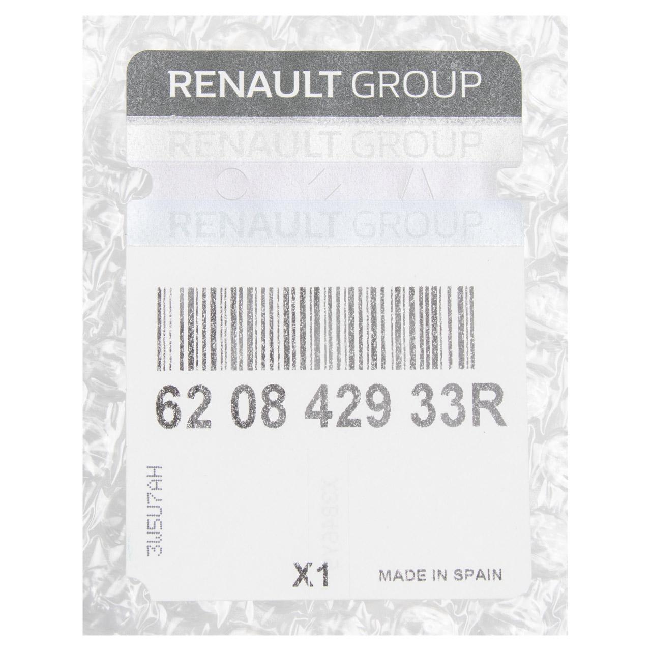 ORIGINAL Renault Stoßstange Frontverkleidung Captur (J5_, H5_) unten 620842933R