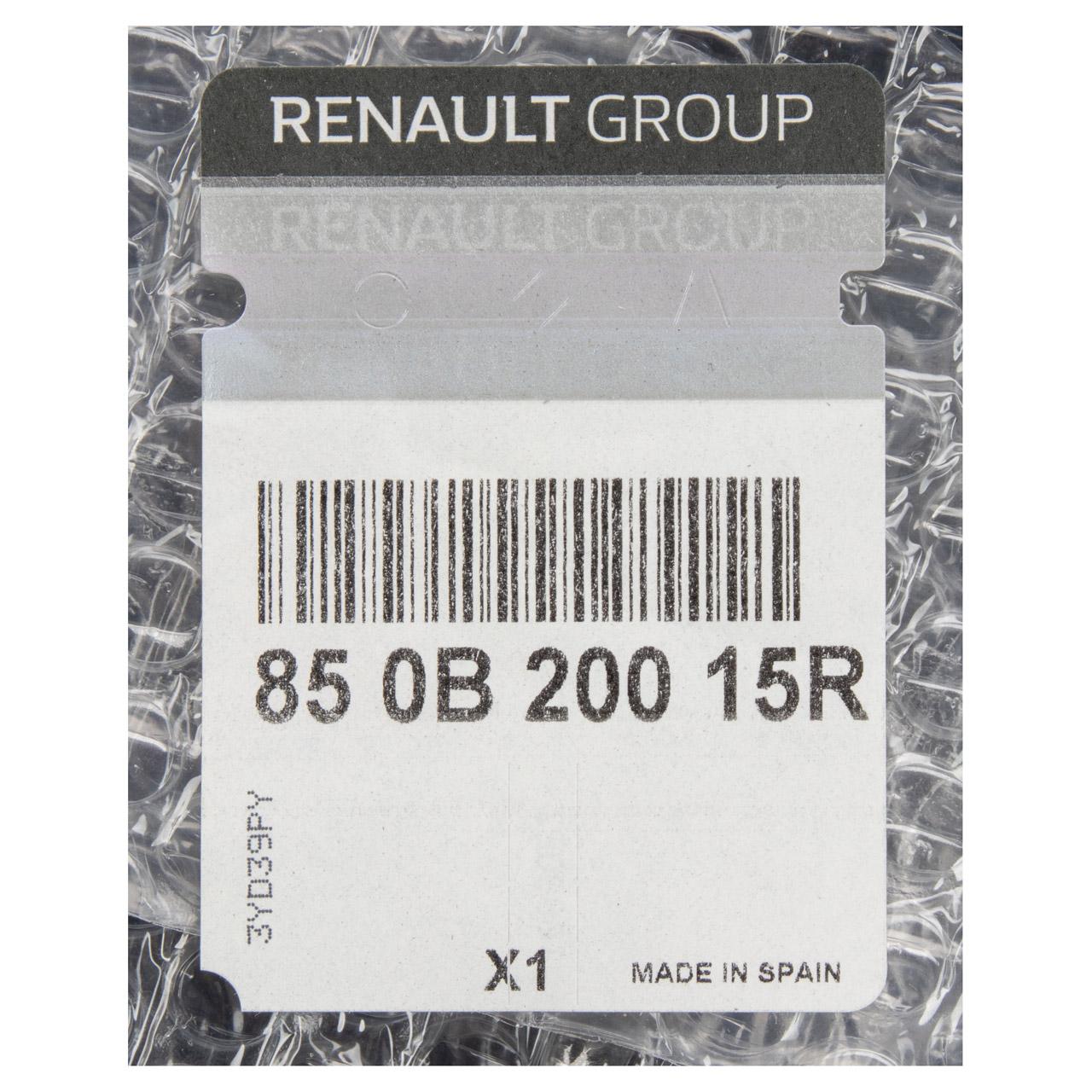 ORIGINAL Renault Stoßstange Megane II bis 03.2012 hinten UNTERER TEIL 850B20015R