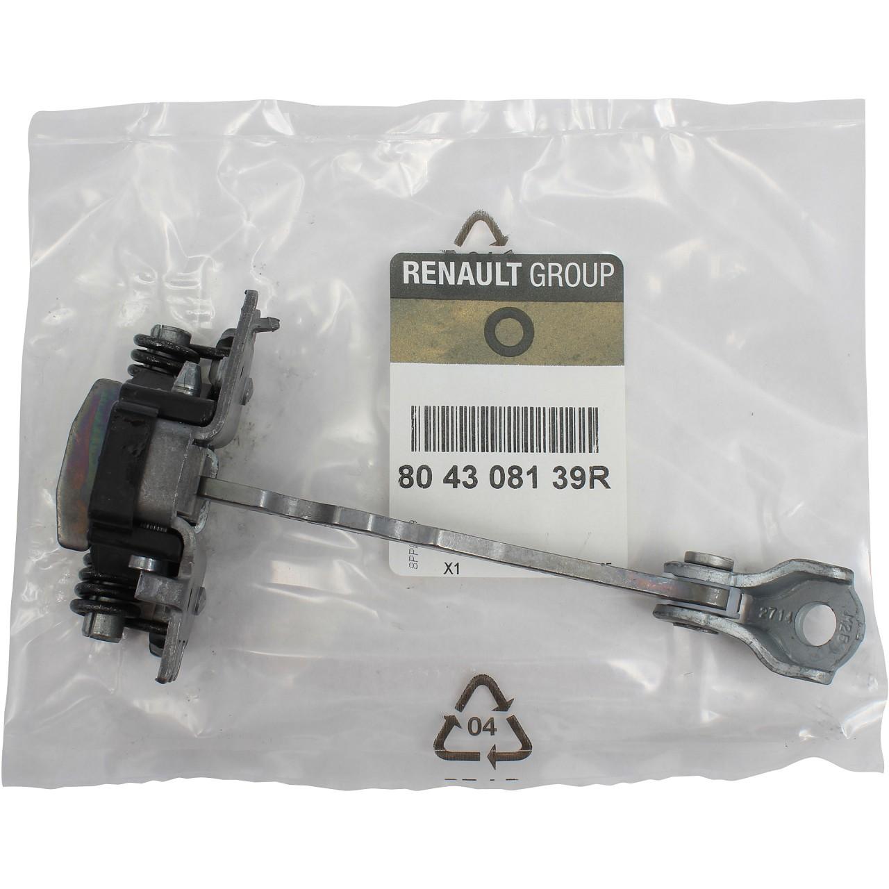 ORIGINAL Renault Türfeststeller Türsteller Türhalteband Türfangband 804308139R