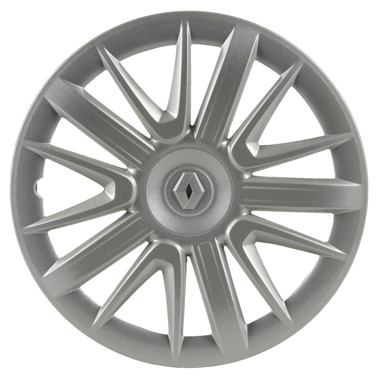 ORIGINAL Renault Radkappe Radblende SILBER 15 Zoll CLIO IV TWINGO III 7711426508