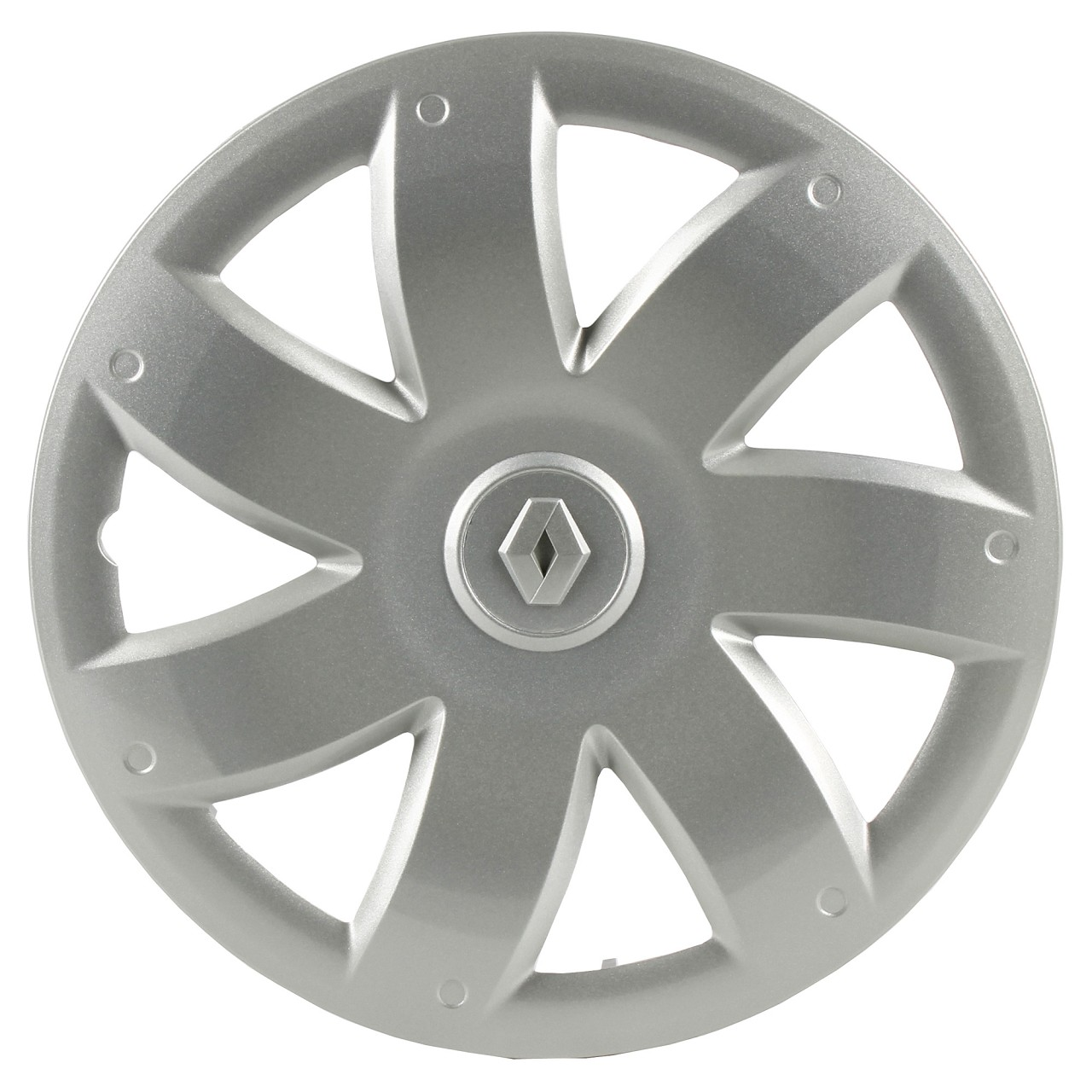 ORIGINAL Renault Radkappe Radblende SILBER 15 Zoll (1 Stück) 7711426514