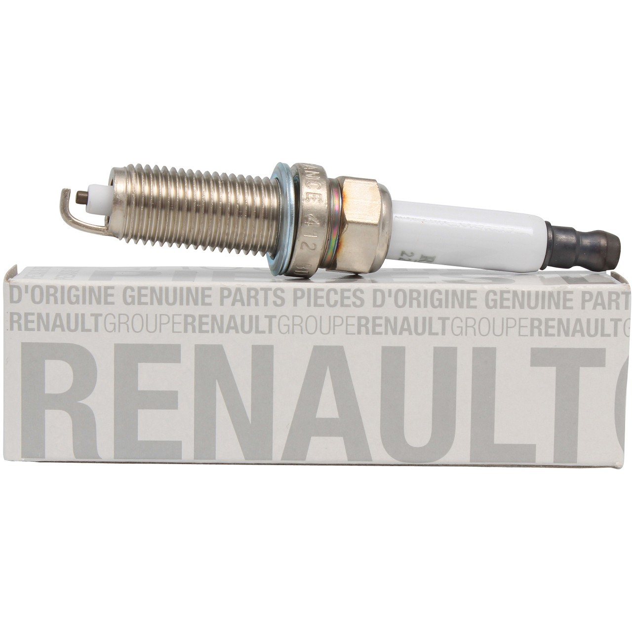 ORIGINAL Renault Zündkerze (1 Stück) Clio Modus Thalia Twingo 1.2 224018760R