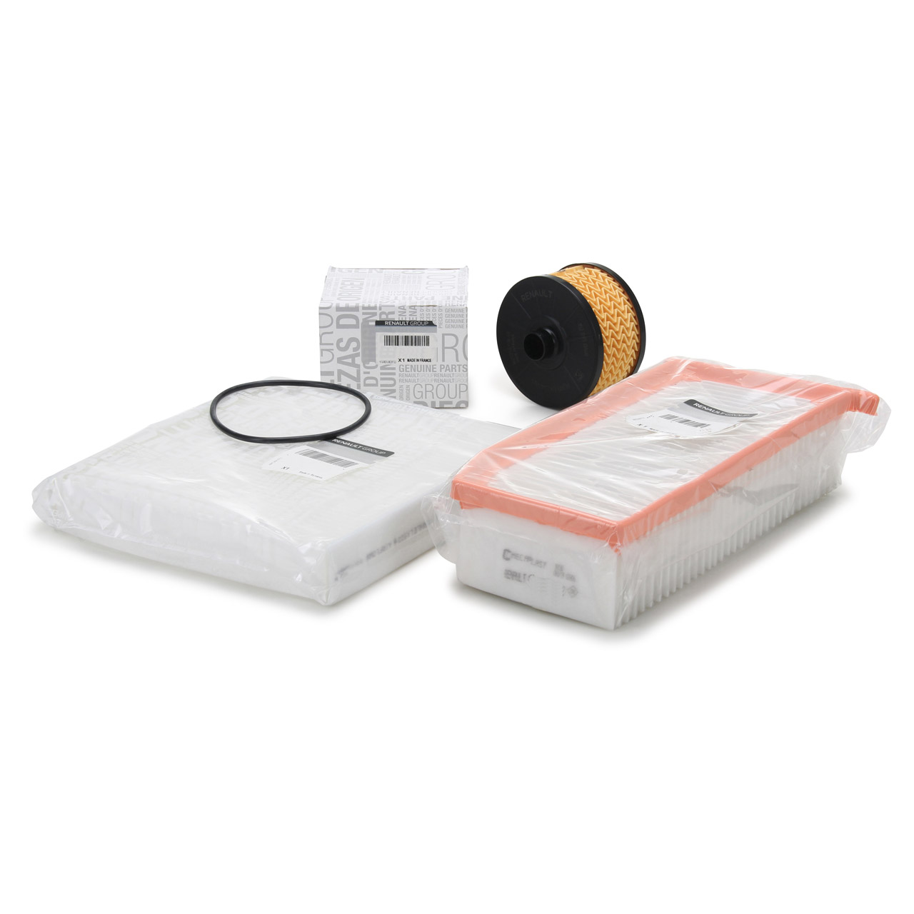 ORIGINAL Renault Inspektionskit Filterpaket Clio IV (BH KH) 0.9/1.2TCe 90/120 PS