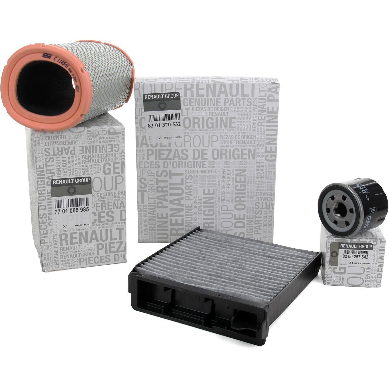 ORIGINAL Renault Inspektionskit Filterpaket Filterset Twingo II 1.2 58 PS