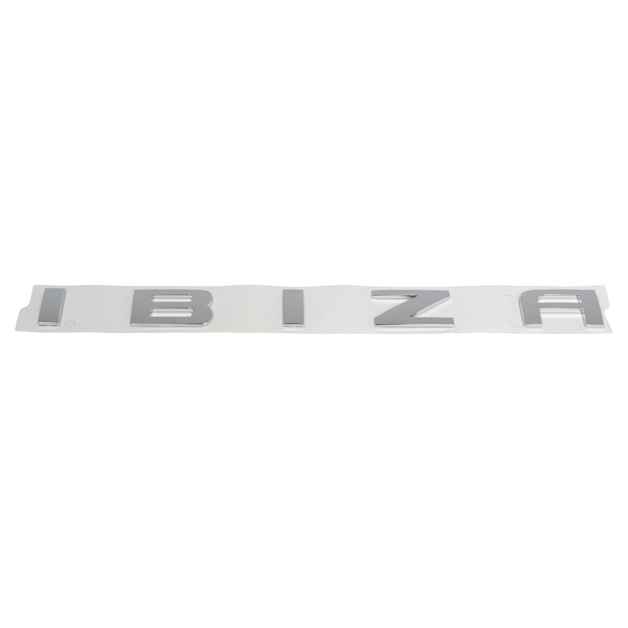 ORIGINAL SEAT Emblem Schriftzug IBIZA Heckklappe Ibiza 5 (KJ1) 6L6853687A2ZZ