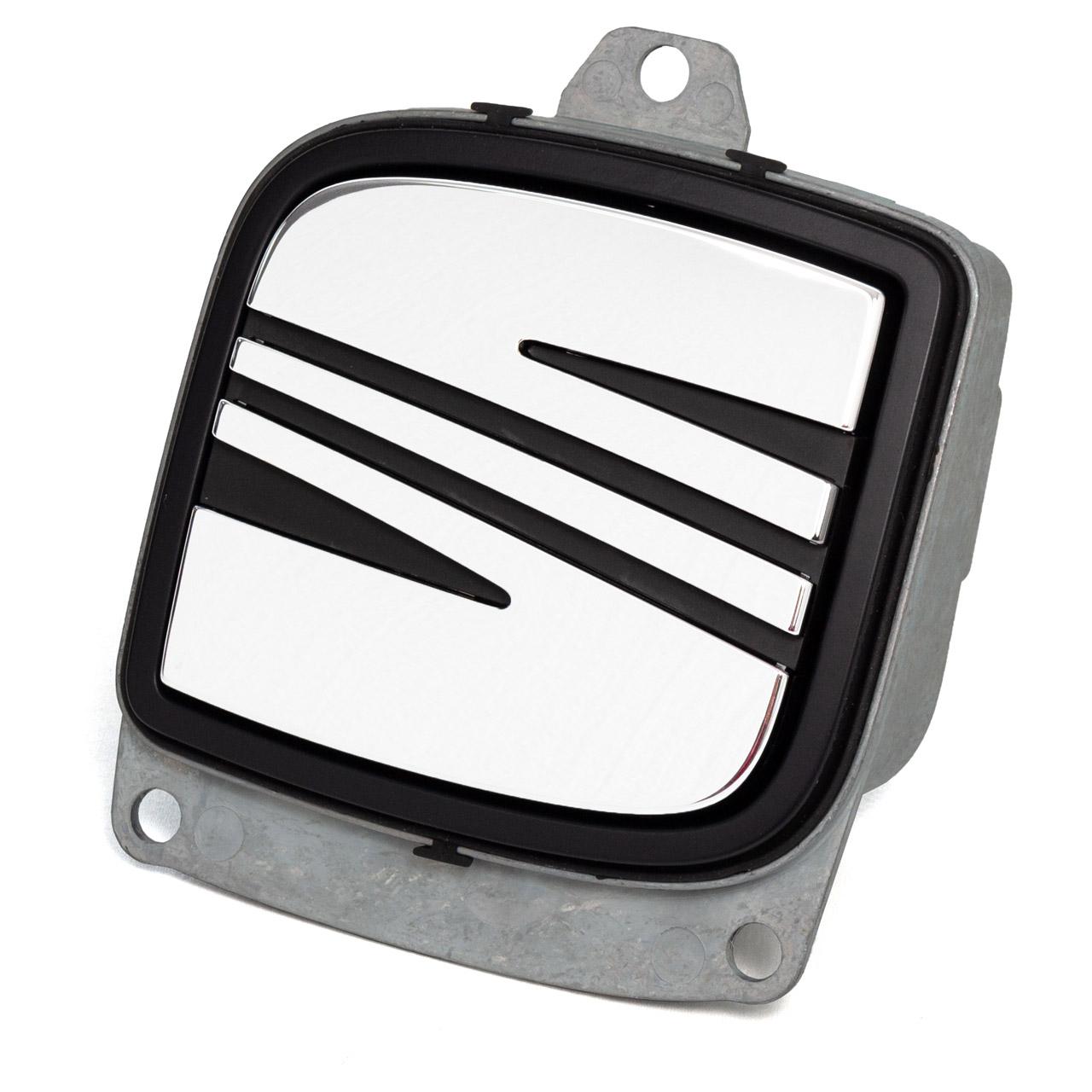 ORIGINAL SEAT Heckklappengriff Öffner + Emblem Leon 1P Toledo 3 Altea 5P0827565D