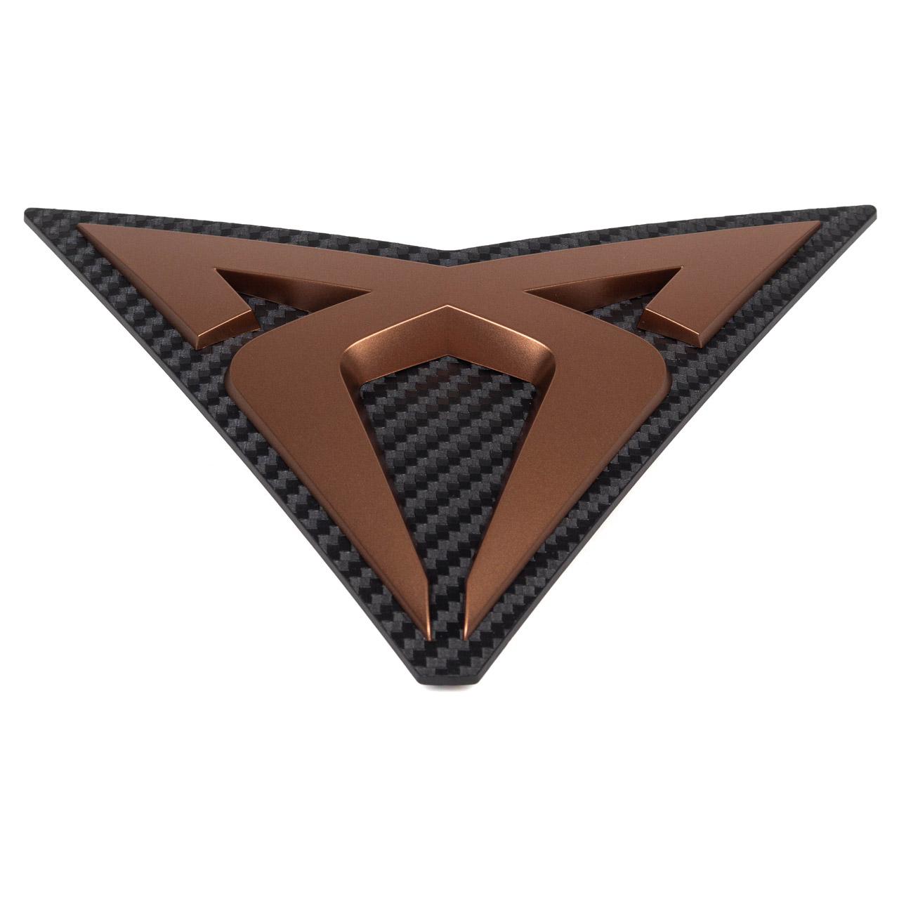 ORIGINAL Seat CUPRA Emblem Logo Kühlergrill Kupfer ATteca KH7 KHP 575853679J RZH