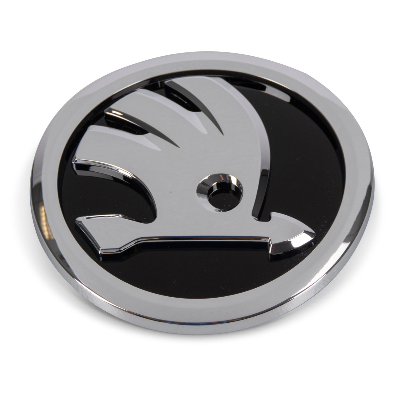 ORIGINAL Skoda Emblem Logo FABIA 3 OCTAVIA 3 SUPERB 3 YETI vorne / hinten 3V0853621AFOD