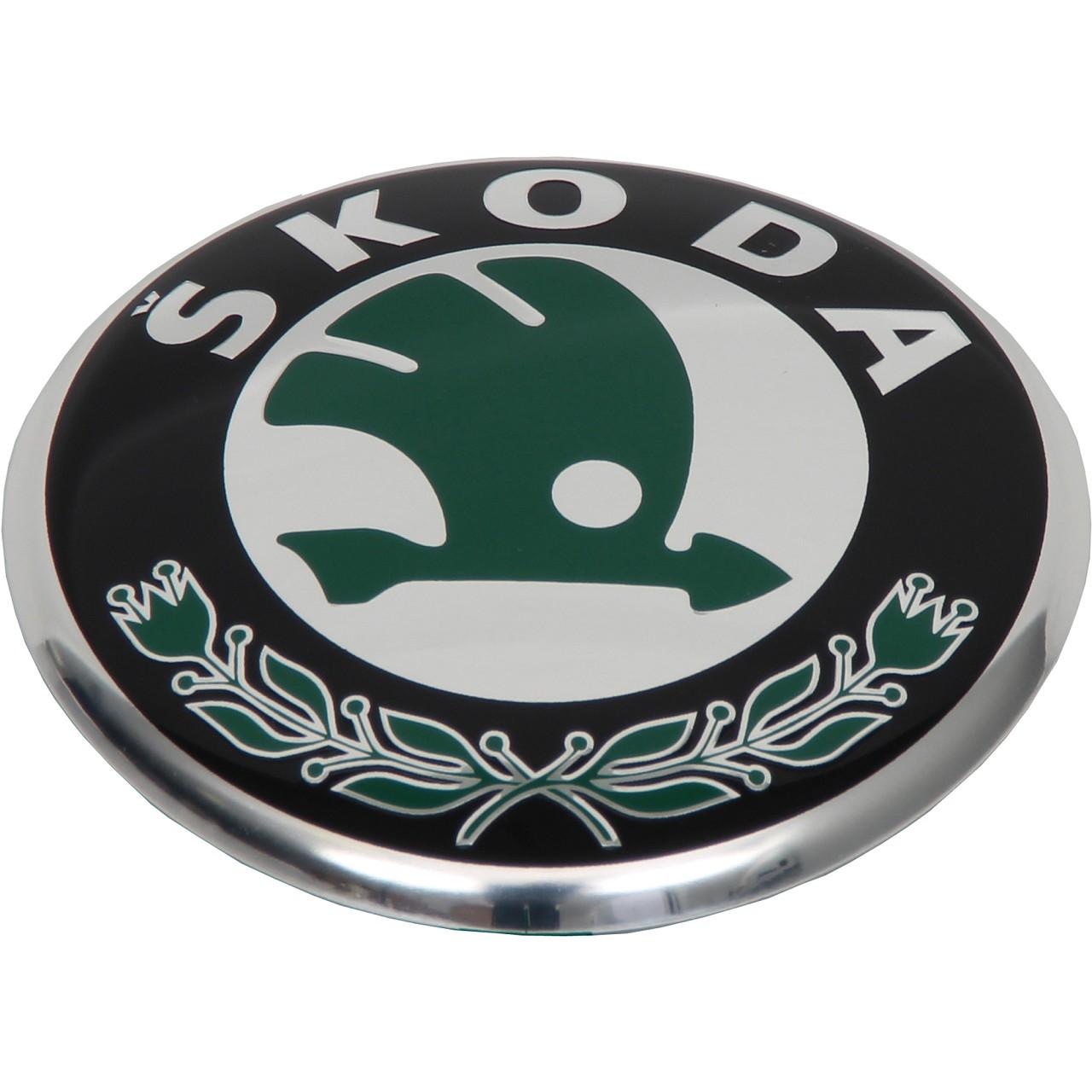 ORIGINAL Skoda Emblem Plakette Logo Wappen Fabia Combi (6Y5) 6Y9853621 MEL