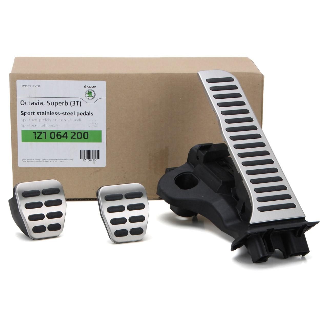 ORIGINAL Skoda Pedal-Blenden für Schaltgetriebe 1Z1064200 für Octavia 2 Superb 2