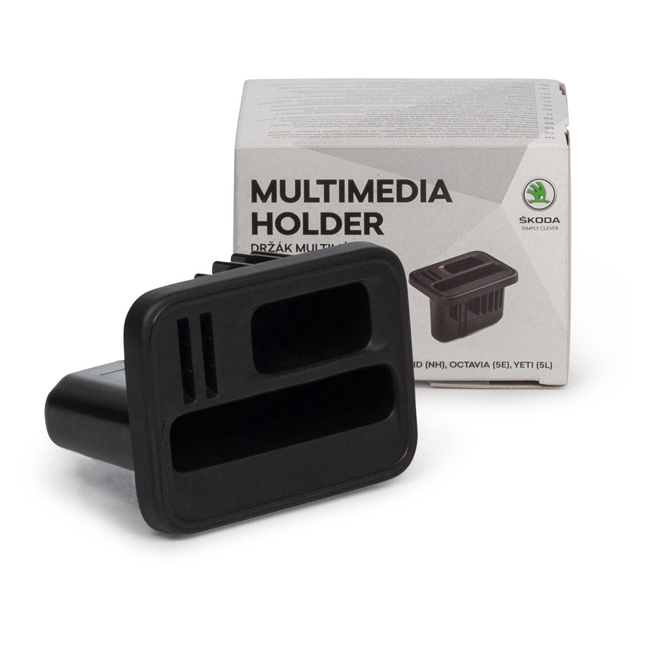 ORIGINAL Skoda Halter Multimedia Universalhalter OCTAVIA 3 RAPID YETI 000051435AD