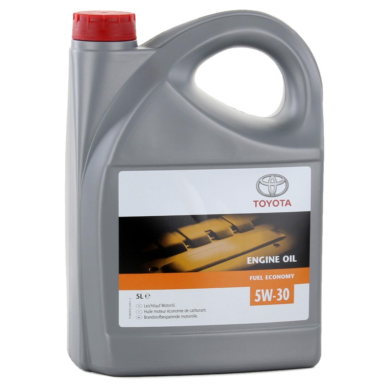5L 5 Liter ORIGINAL Toyota Motoröl Öl FUEL ECONOMY 5W-30 5W30 08880-80845