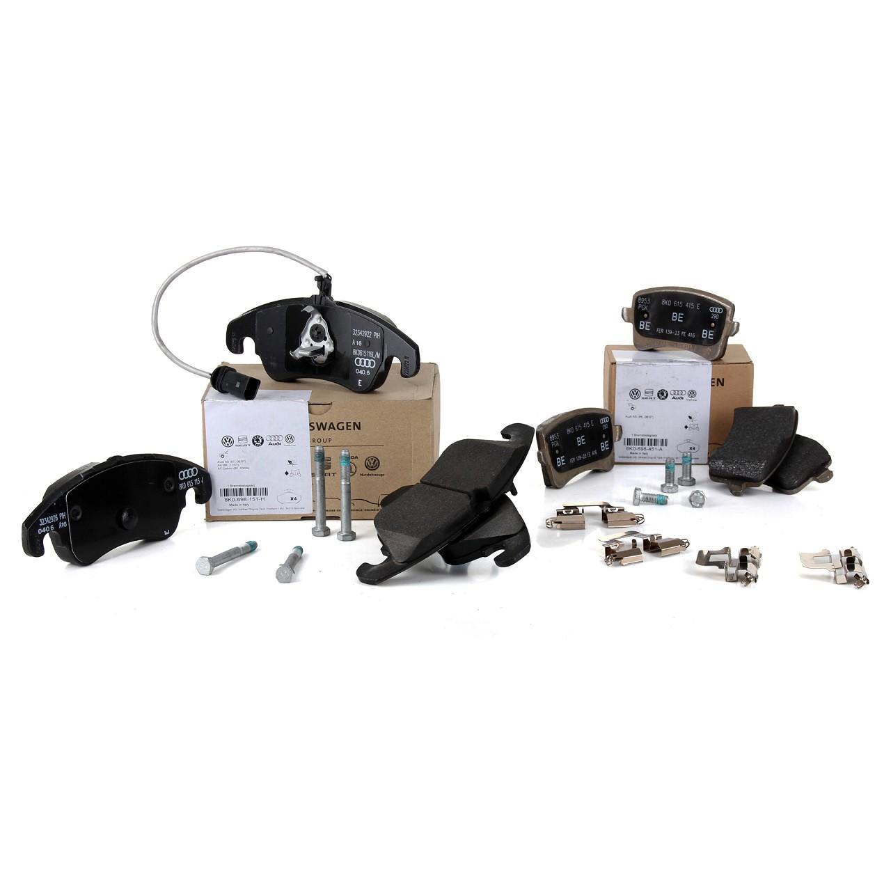 Bosch Bremsbeläge  AUDI A4 B8 und A5 Cabrio u Sportback Satz für hinten
