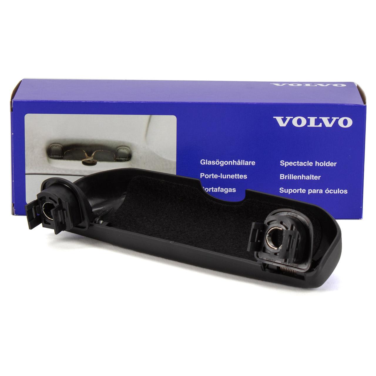 ORIGINAL Volvo Brillenfach Brillenetui Brillenablage Schwarz S60 2 S90 2 XC60 V40 31403479