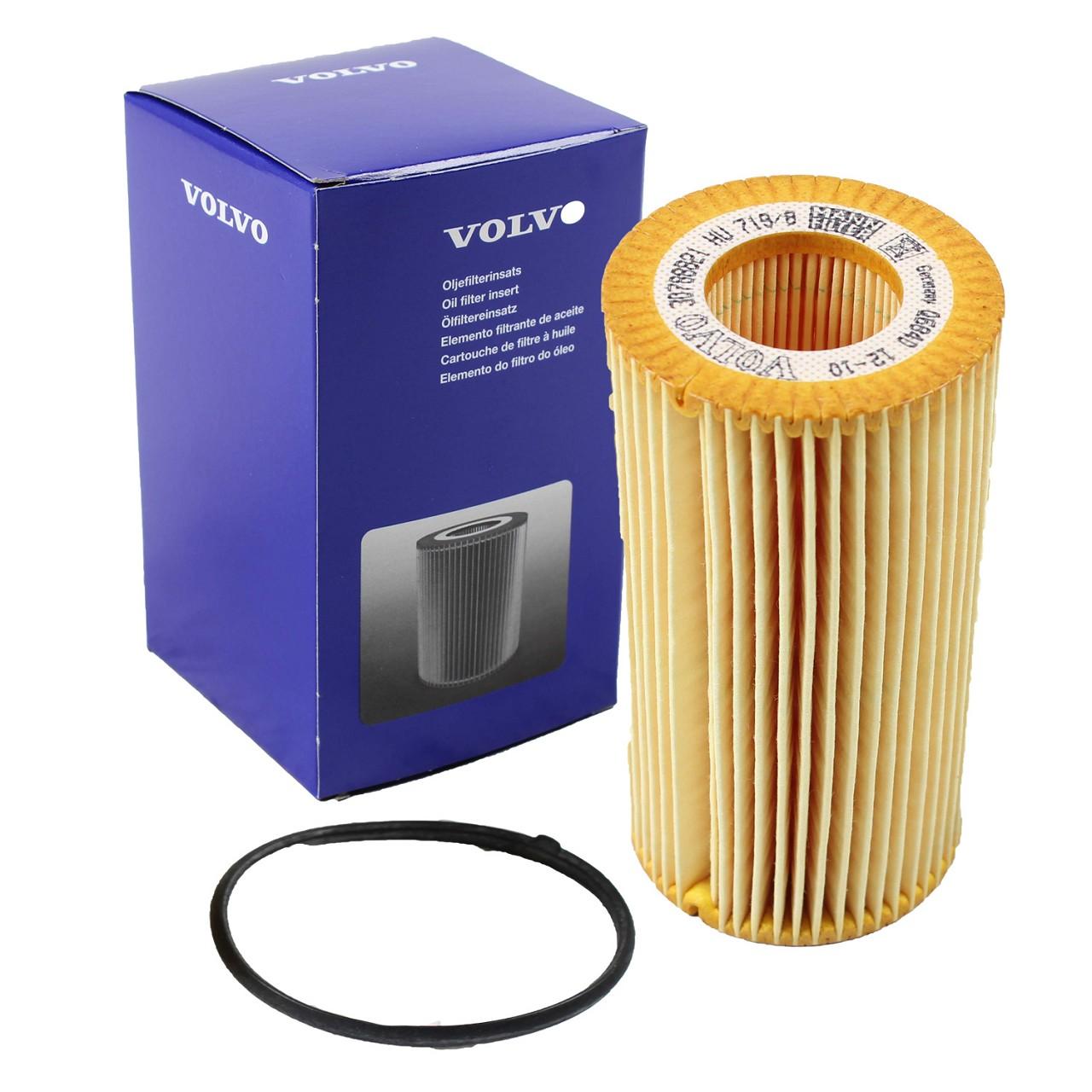 ORIGINAL Volvo Ölfilter Motorölfilter inkl. Dichtung S40 S60 V60 V70 30788490