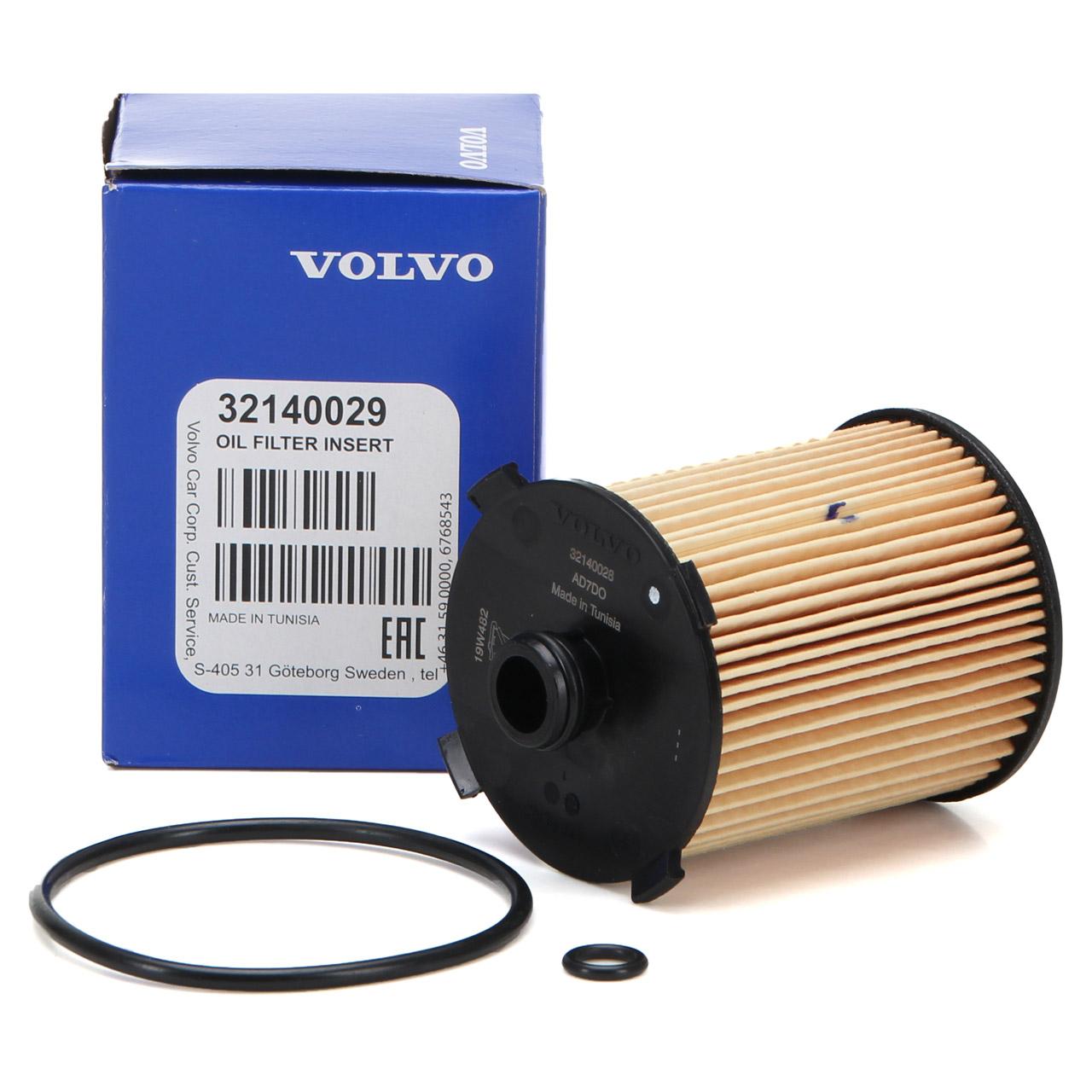 ORIGINAL Volvo Ölfilter S60 II S80 II V40 V60 V70 III XC60 XC70 II XC90 32140029