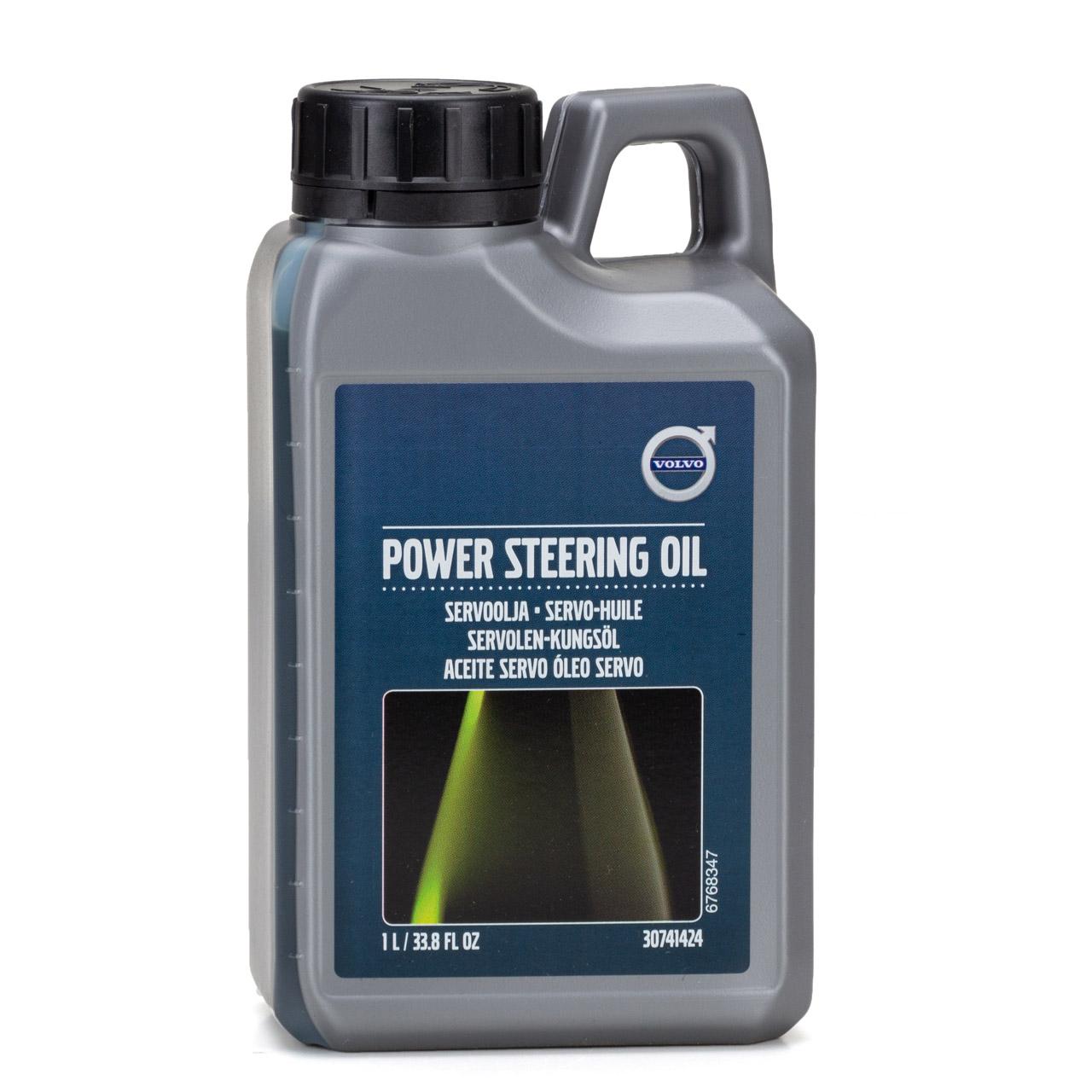 ORIGINAL Volvo Hydrauliköl Servo Öl Servolenkungsöl Lenkflüssigkeit 1L 30741424
