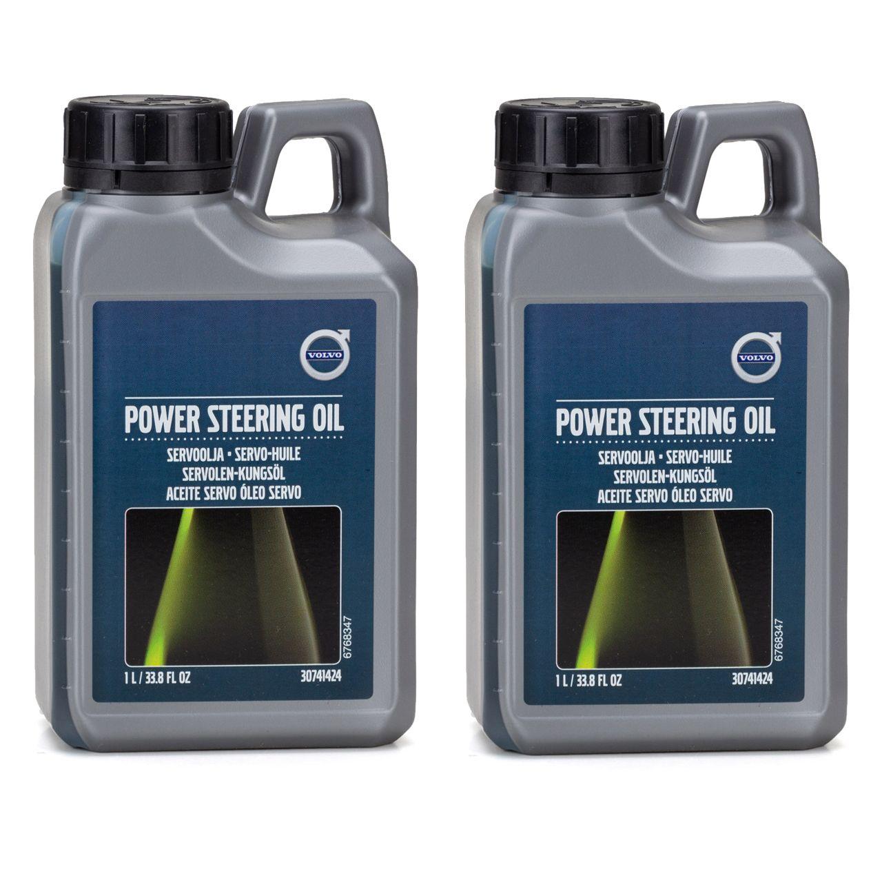 ORIGINAL Volvo Hydrauliköl Servo Öl Servolenkungsöl Lenkflüssigkeit 2L 30741424