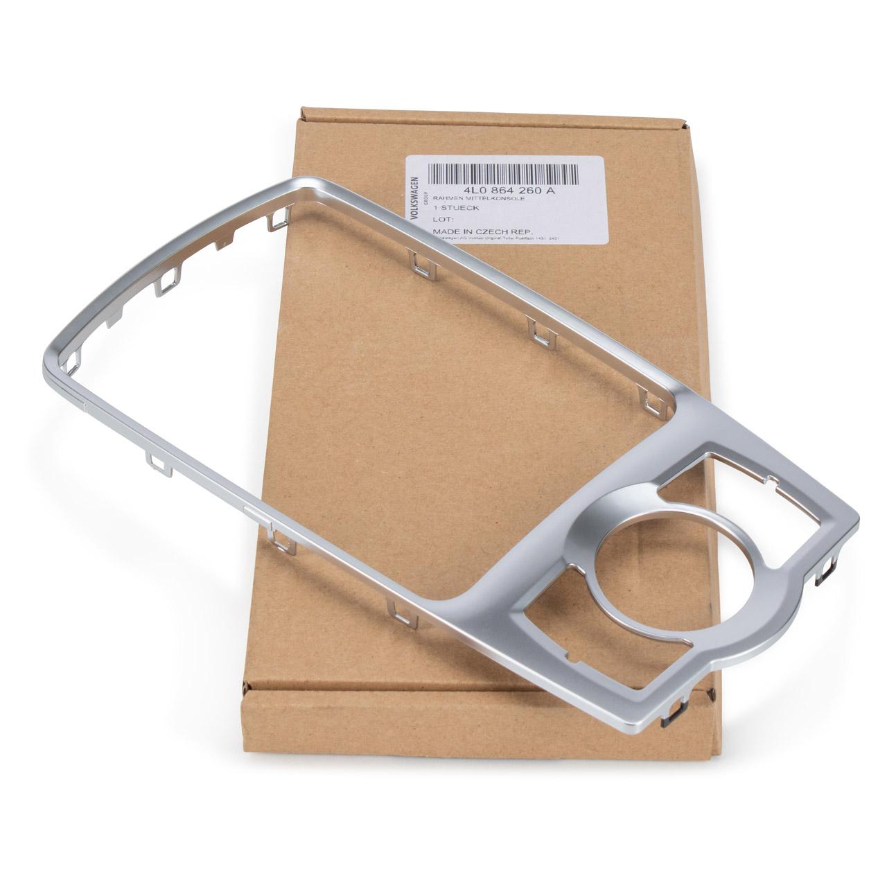 ORIGINAL Audi Rahmen Halterahmen Mittelkonsole Bedieneinheit Q7 4LB 4L0864260A