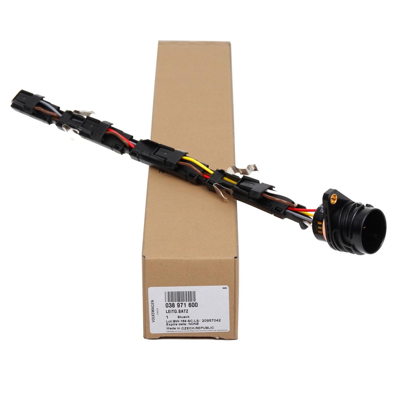 ORIGINAL AUDI VW Adapter Leitungssatz Einspritzdüse Pumpe-Düse 1.9 TDI 038971600