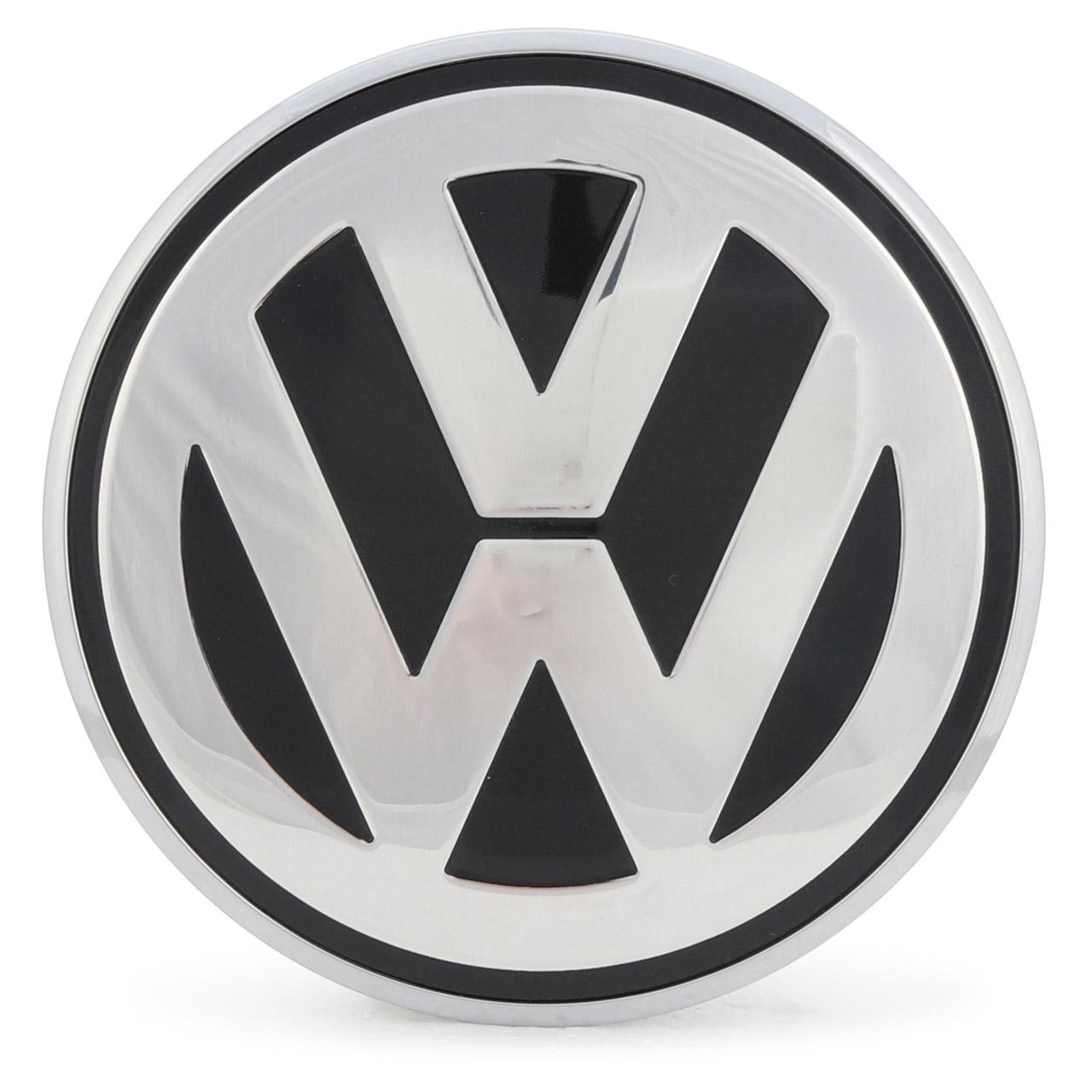 2x ORIGINAL VW CHROM Emblem Logo Motorhaube + Heckklappe New Beetle bis 2005