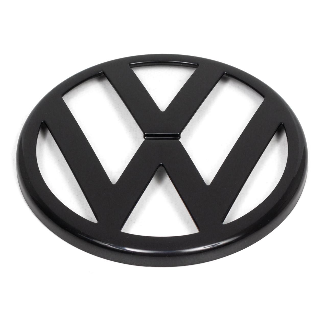 ORIGINAL VW Emblem Logo Symbol Kühlergrill Schwarz Golf 4 MK4 1J0853601A 041