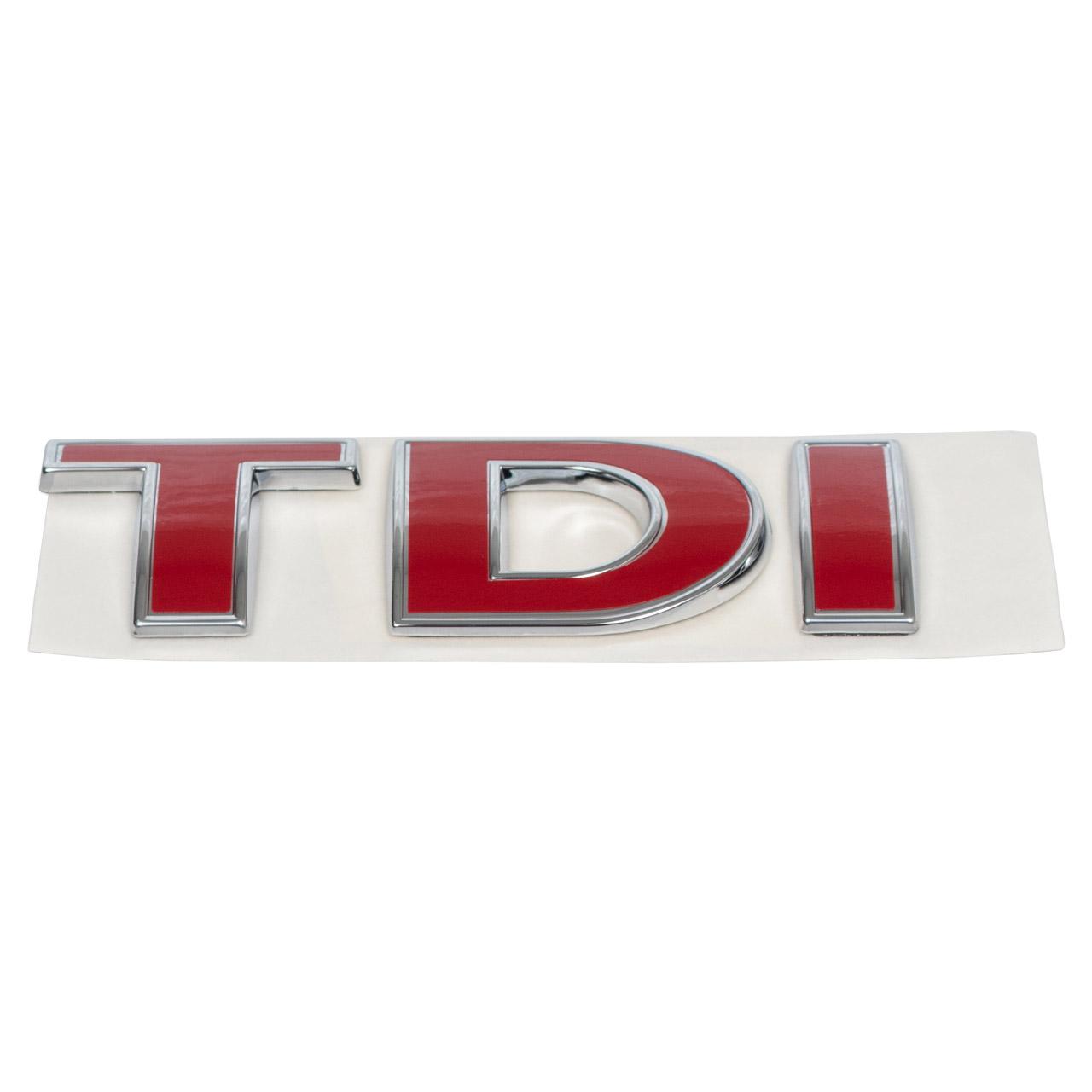 ORIGINAL VW Emblem Logo Schriftzug TDI Golf 4 Bora Passat 3B3 3B6 1J0853675ACGQF