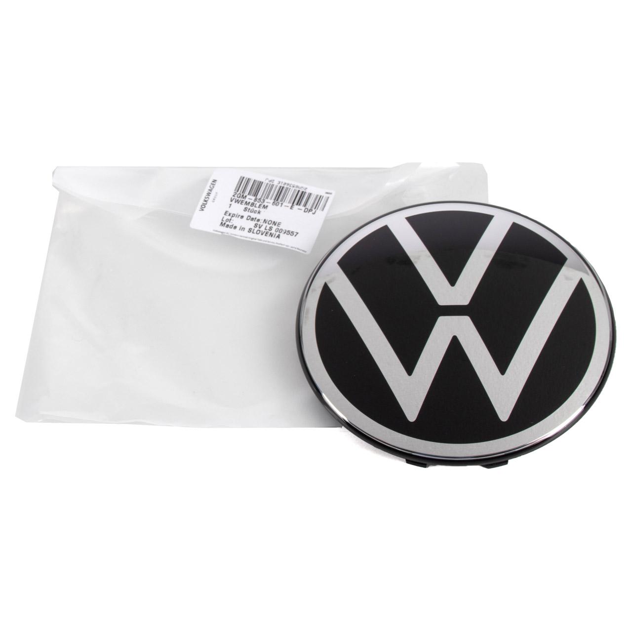 ORIGINAL VW Emblem Logo Polo T-Cross T-Roc Touran NEUE Version 2GM853601E DPJ