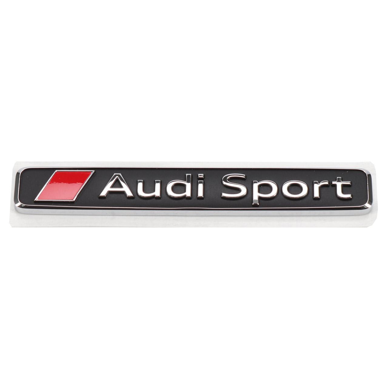 ORIGINAL Audi Emblem Schriftzug Audi Sport Kühlergrill R8 R8 Spyder 4S0853737D 2ZZ