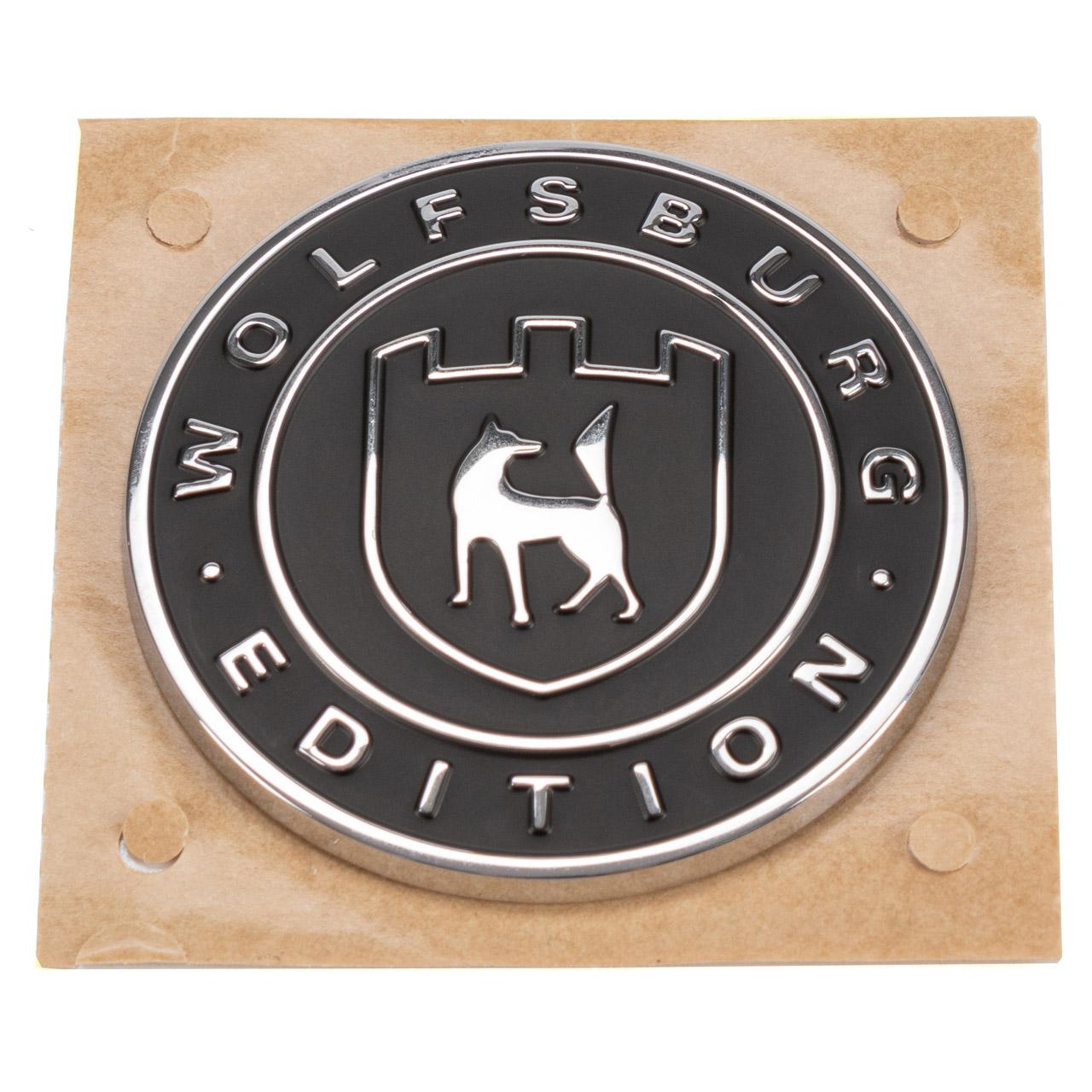 ORIGINAL VW Emblem Schriftzug WOLFBURG EDITION Tiguan Passat B8 seitlich 561853688D YMS