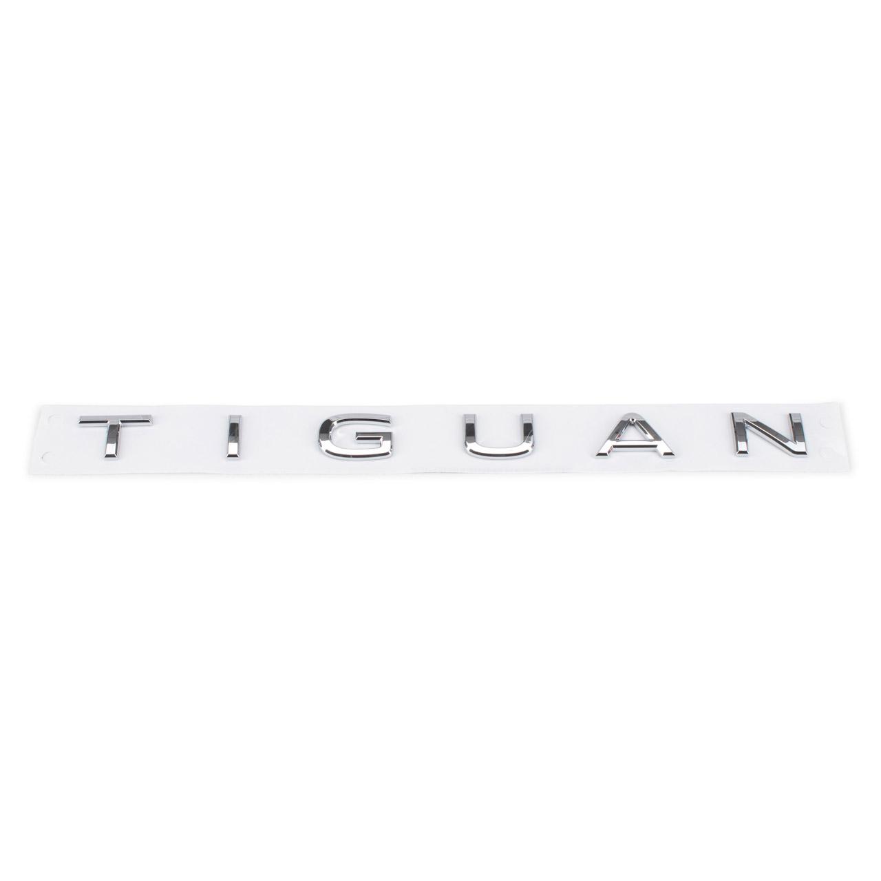 ORIGINAL VW Emblem Plakette Schriftzug Chrom Tiguan 5N AD AX hinten 5NA853687H 2ZZ