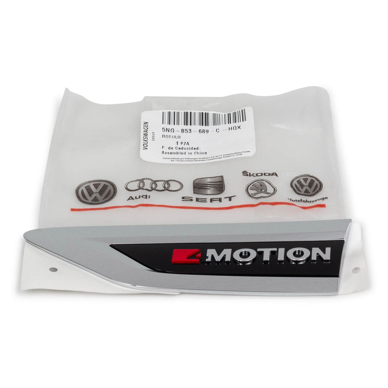 ORIGINAL VW Emblem Schriftzug 4Motion Tiguan Allspace links 5NG853689C HQX