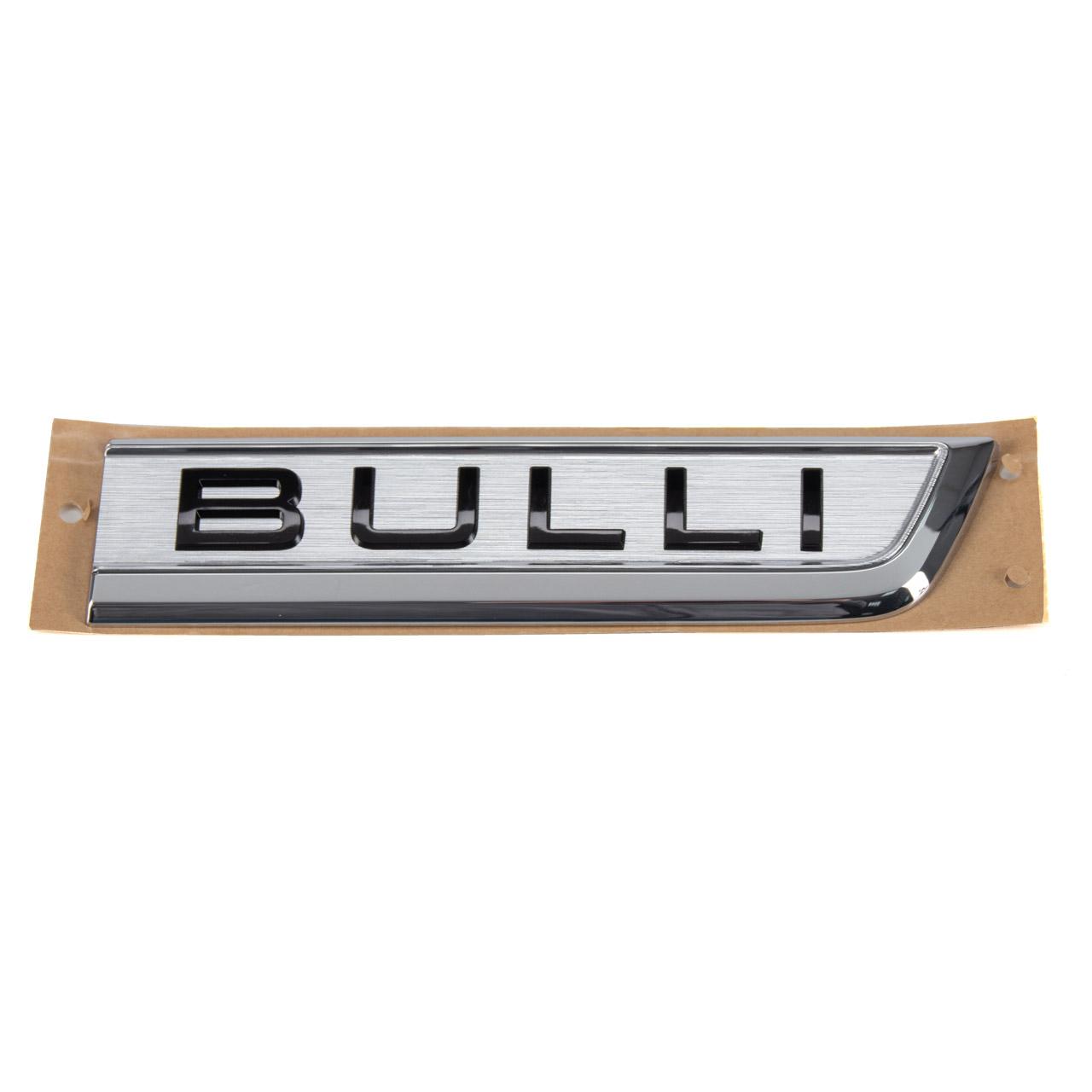 ORIGINAL VW BULLI Emblem Schriftzug Transporter Multivan T6 links 7E0853688ACBX