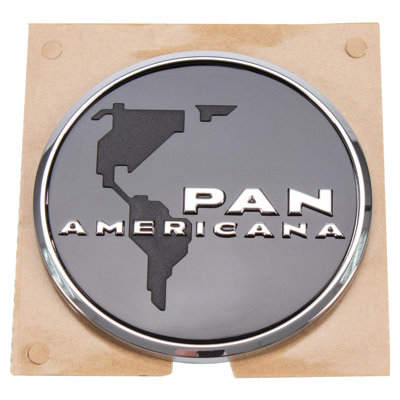 ORIGINAL VW Kappe Plakette PAN AMERICA Emblem T6 seitlich 7E0853688B BYY