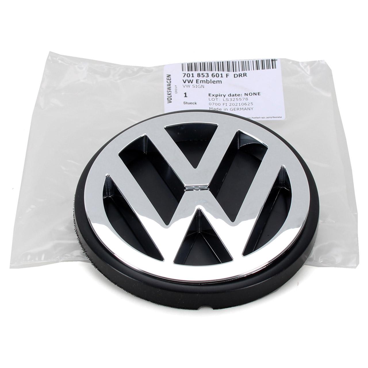 ORIGINAL VW Emblem Logo Heckklappe Transporter T4 hinten 701853601F DRR
