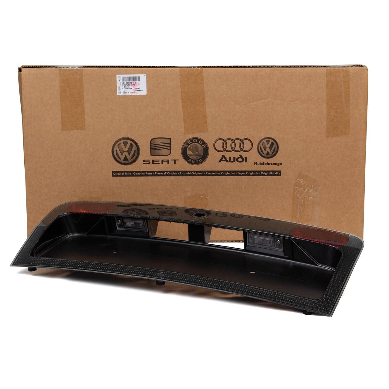 ORIGINAL Audi Kennzeichenhalter Nebelschlussleuchte A6 C5 hinten 4B5945695 01C