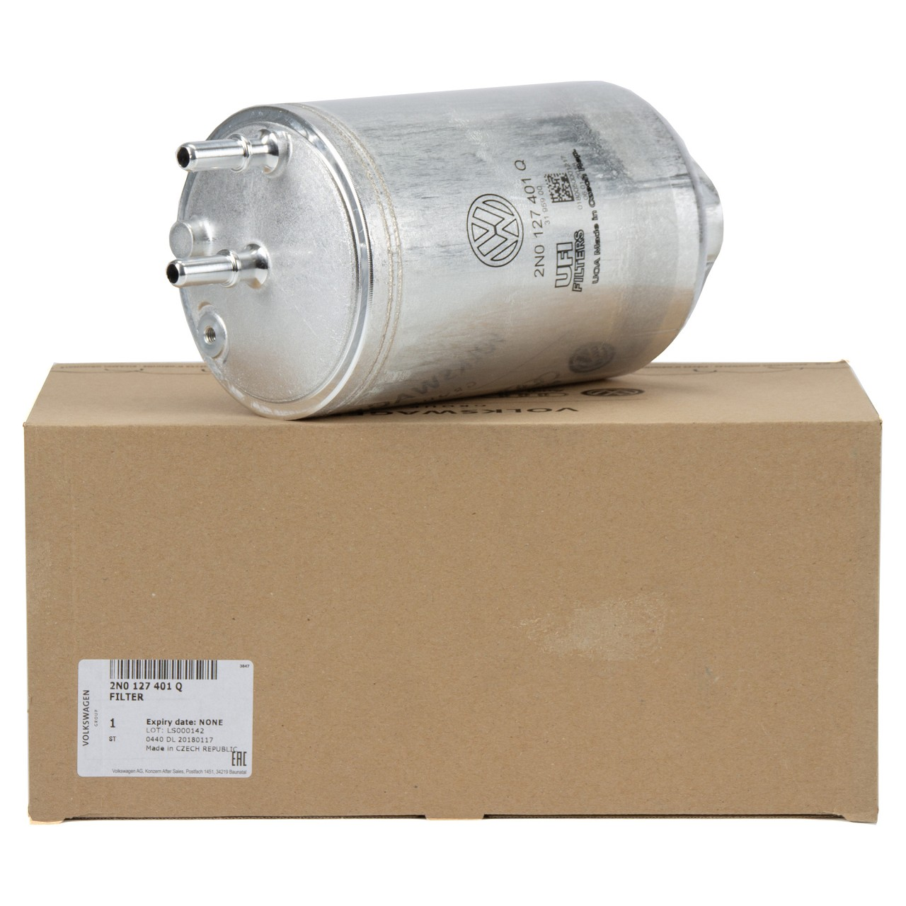 ORIGINAL VW Kraftstofffilter Dieselfilter CRAFTER (SY SX SZ) 2.0 TDI 2N0127401Q
