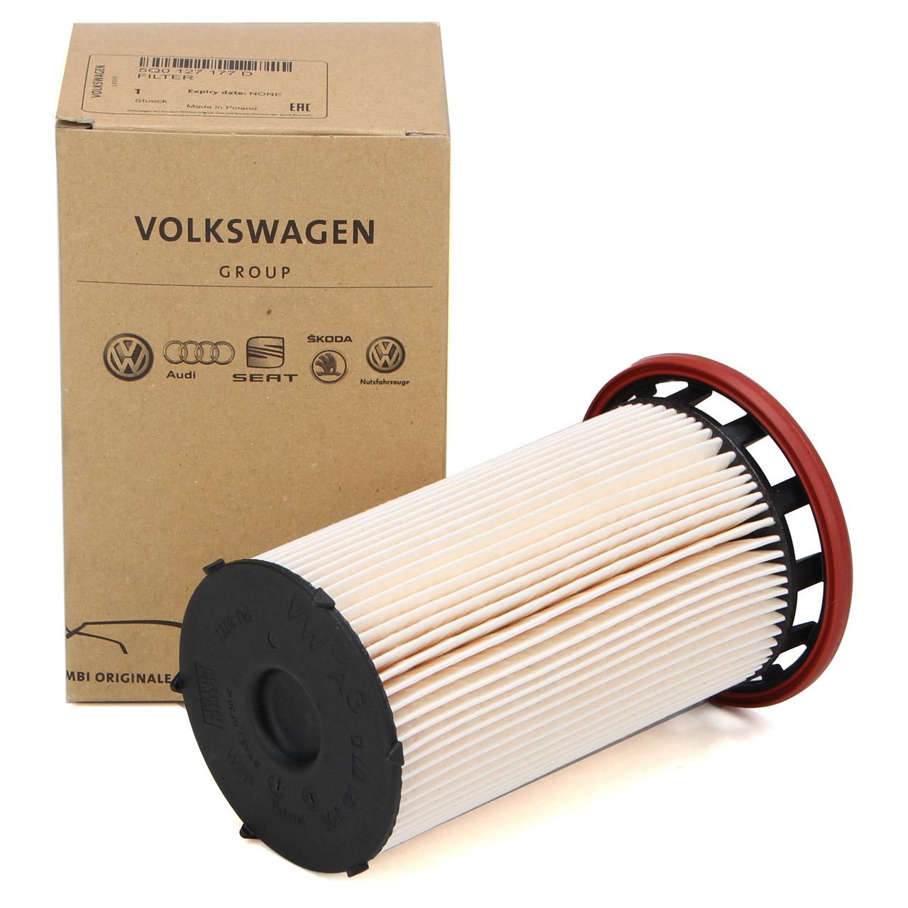 ORIGINAL Audi Skoda VW Kraftstofffilter Dieselfilter 1.6/2.0 TDI 5Q0127177D