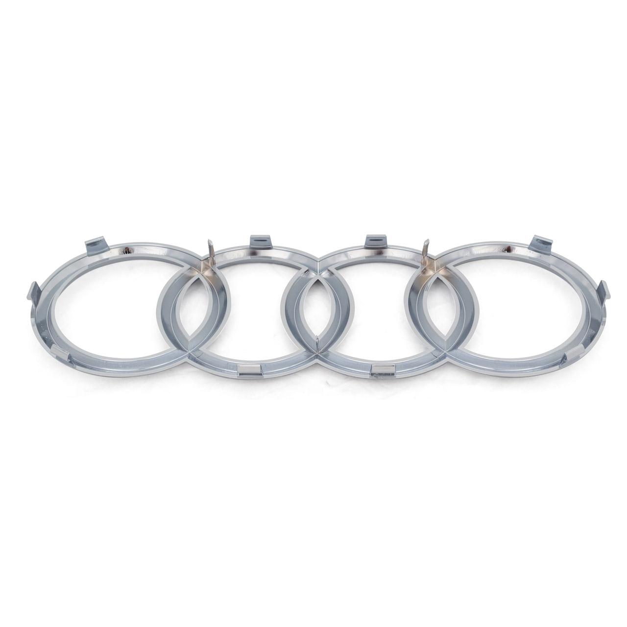 ORIGINAL Audi Emblem Ringe Logo Grill A1 GBH GBA A6 C8 A7 4K vorne 8T0853605 2ZZ