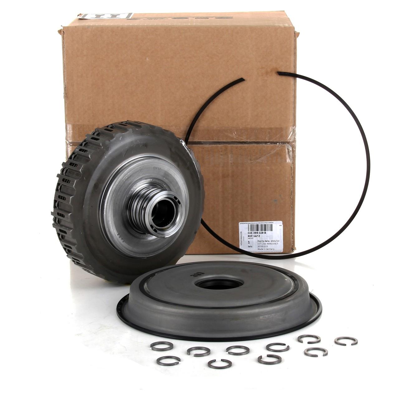 ORIGINAL Audi VW Kupplungssatz Reparatursatz für 6-Gang DSG Getriebe 02E398029B