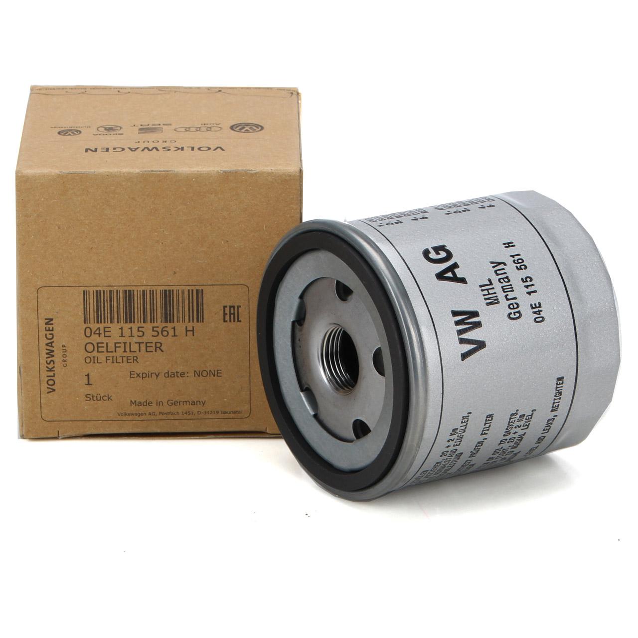 ORIGINAL Audi VW Ölfilter Motorölfilter 1.0/EcoFuel 1.2TFSI 1.4TFSI 04E115561H