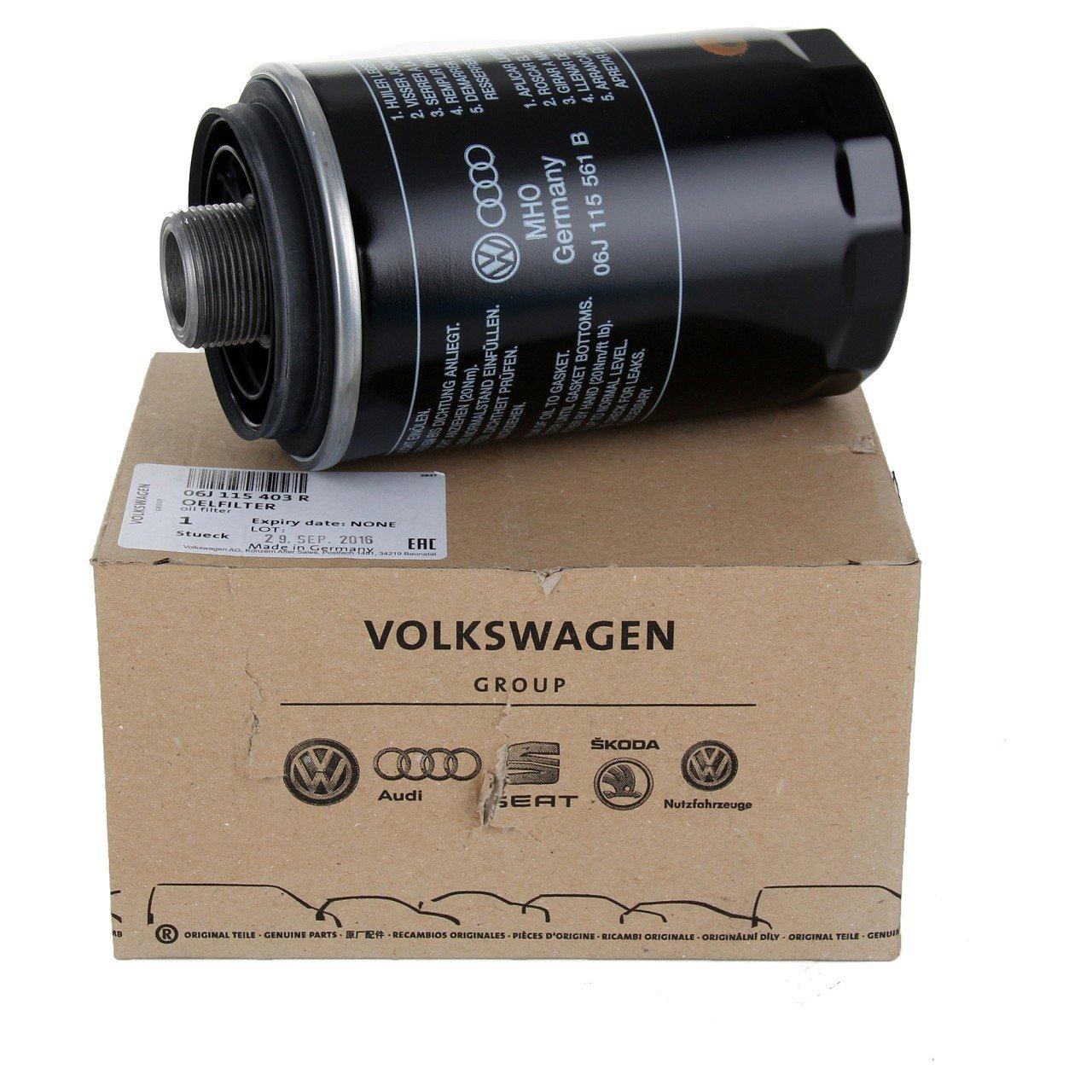 ORIGINAL VW Ölfilter MULTIVAN TRANSPORTER T5 T6 2.0 TSI 150/204 PS 06J115403R