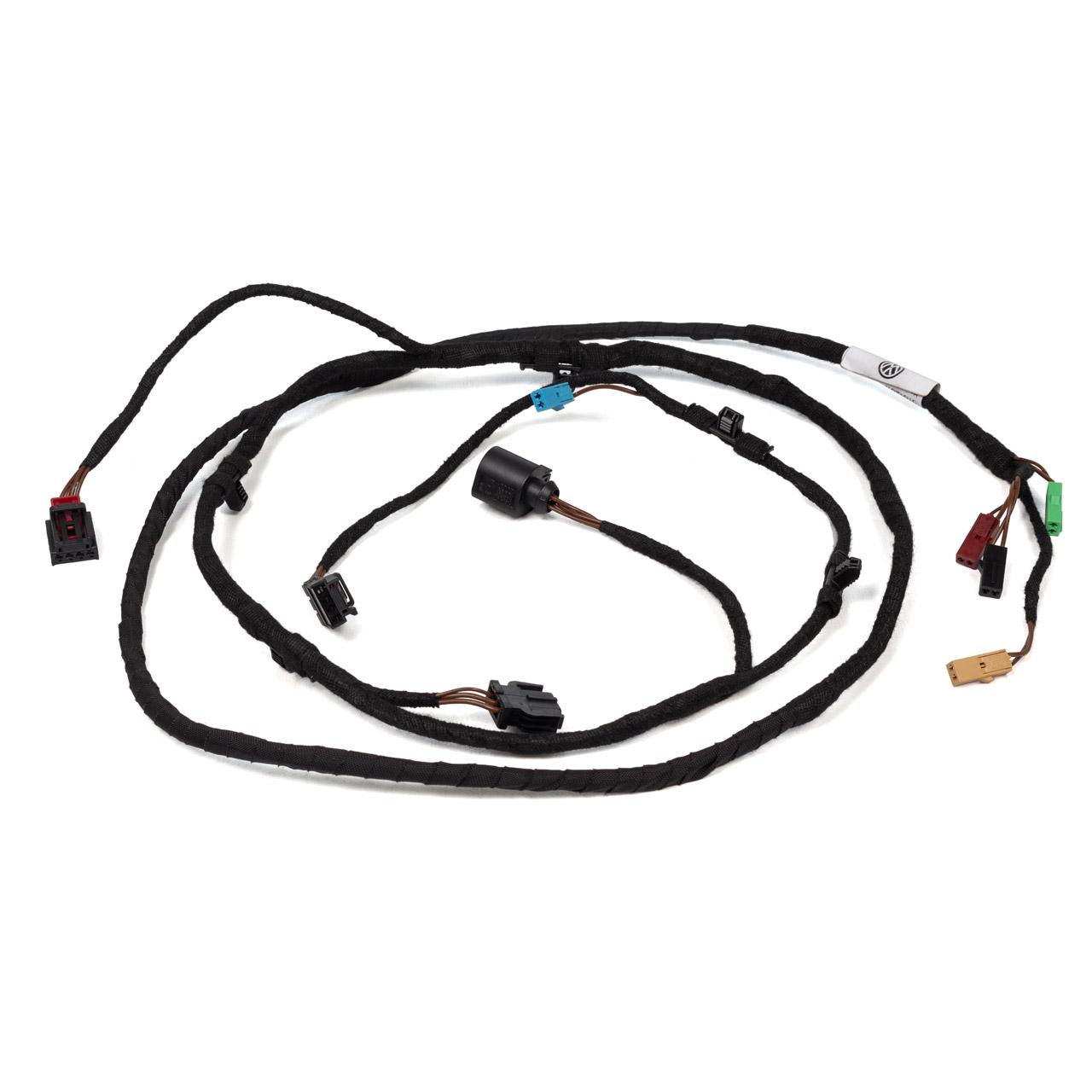 ORIGINAL VW Leitungssatz-Heckdeckel mit Rückfahrkamera CC (358) links 3C8971182J