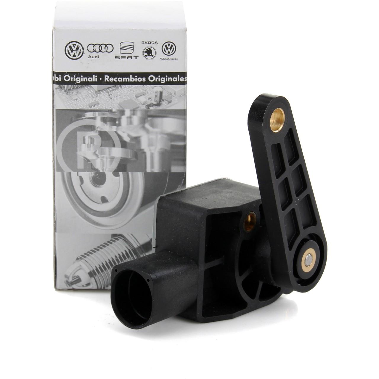 ORIGINAL Audi VW Leuchtweitenregulierung Niveau Sensor Golf V Passat 1T0907503
