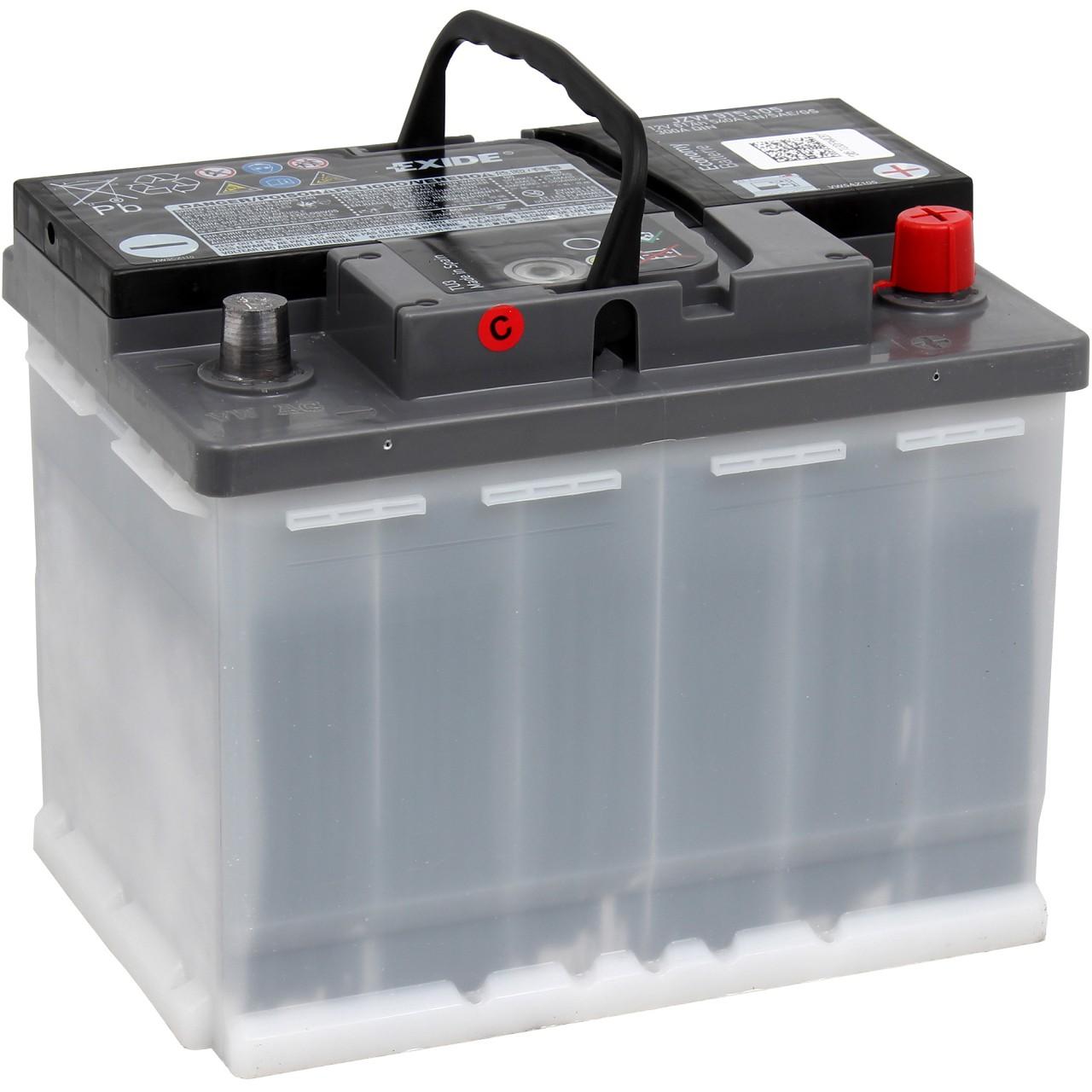 ORIGINAL VW Autobatterie Batterie Starterbatterie 12V 61Ah 300/540A JZW915105