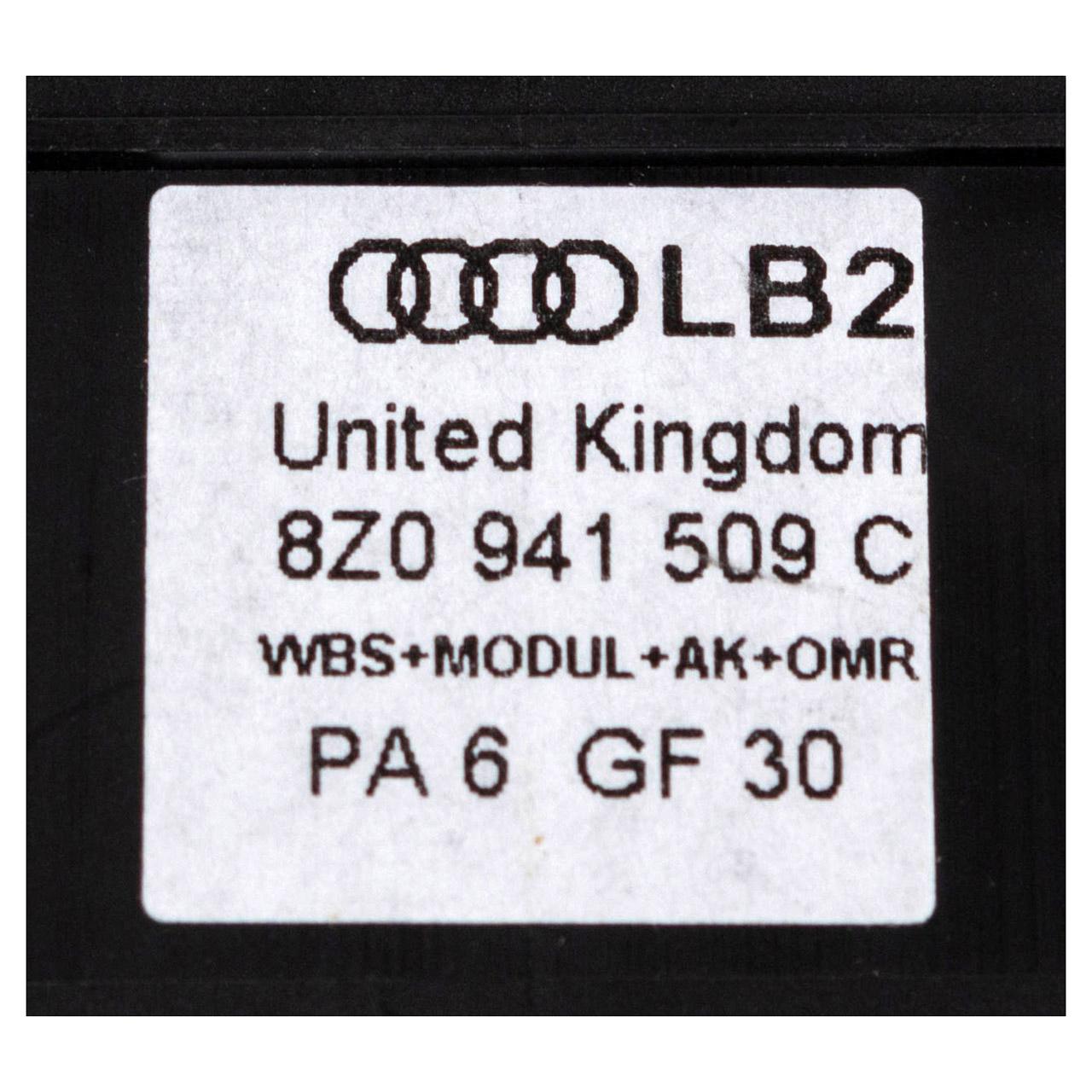 ORIGINAL Audi Warnblinkerrelais Relais Warnlichtschalter A2 8Z0941509C