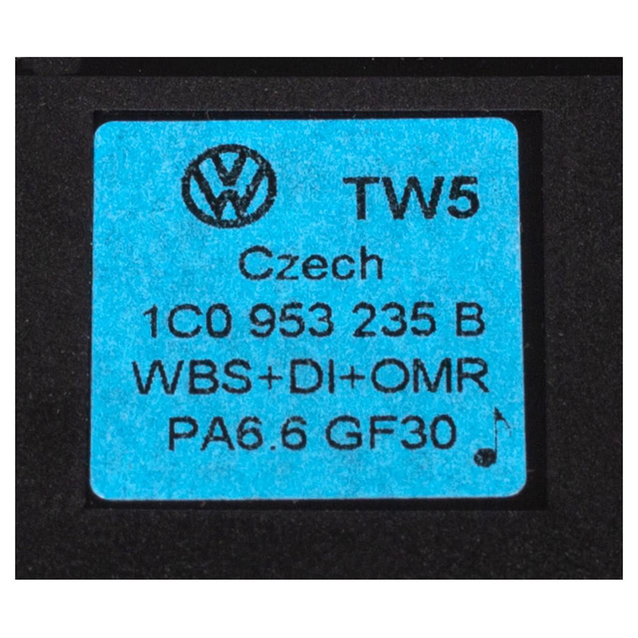 2x ORIGINAL VW Warnblinkschalter Warnlichtschalter New Beetle 1C0953235B B41