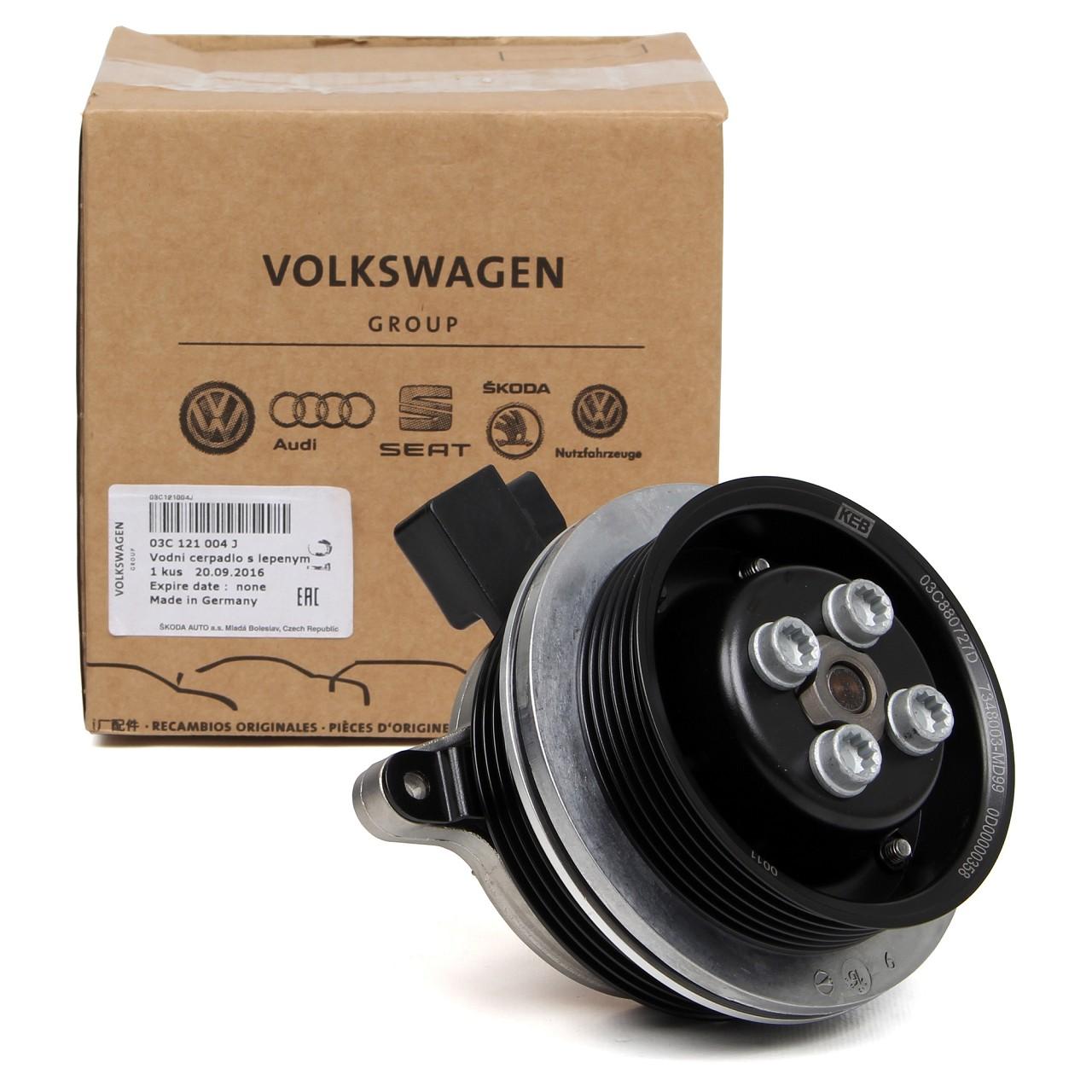 ORIGINAL Audi VW Wasserpumpe A1 GOLF 5 6 PASSAT POLO 1.4 TSI 03C121004JX