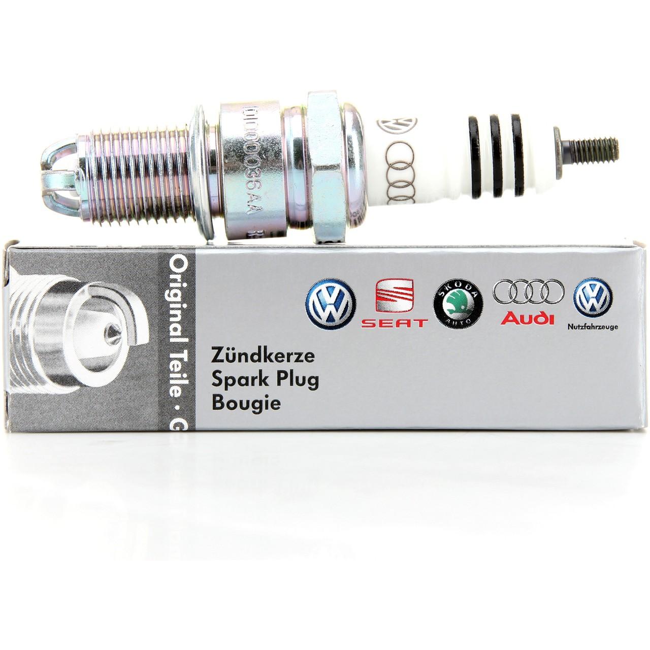ORIGINAL VW Zündkerze Golf 1 2 3 Caddy Passat Polo T3 T4 Vento 101000036AA